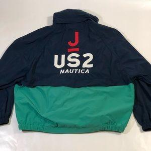 Nautica Folding Windbreaker Jacket